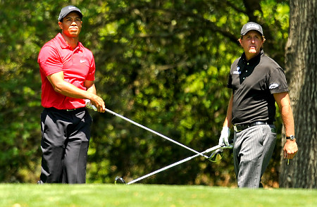 Tiger Woods & Phil Mickleson